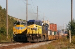 UP and CSX Stack Trains