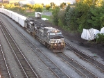 NS 261 leaving River Yard