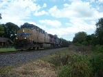 UP 6063 westbound UP empty coal train