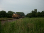 UP 5760 eastbound UP loaded coal train