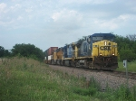 CSXT 87 westbound UP intermodal train