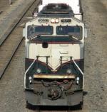BNSF 9693 top veiw