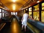 Trolley/Street Car/Doodlebug Interior