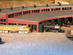 Union Pacific Station museum display