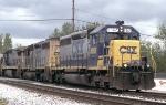 CSX SB tucked in the siding
