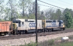 CSX EB ballast train
