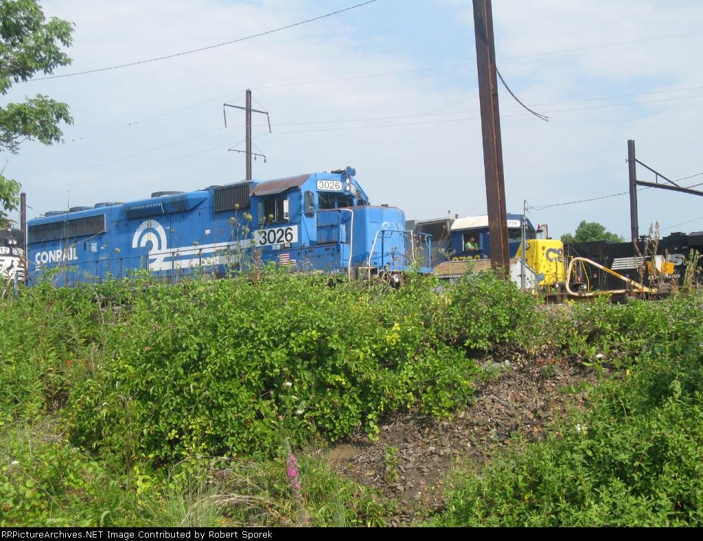Three Railroads in One Shot at Morrisville Yard