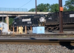 NS 5283 and 9623 in Morrisville Yard