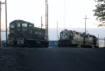 SW1001 and GP38-2s Resting at Morrisville Yard