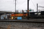 BNSF Unit at Morrisville Yard