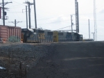 CSX in Morrisville Yard