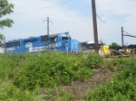 Three Railroads in One Shot at Morrisville Yard