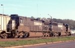 NS WB freight