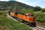 Southbound BNSF coal train