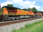 BNSF 4794 and 1061