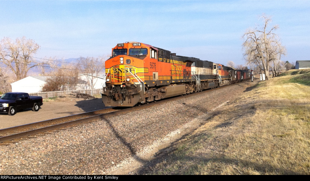 BNSF 5678 80th Ave Arvada Co