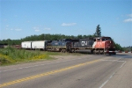 CN 5671 and BC 4646 Eastbound