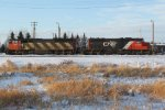 CN 5552 & 5377 at CN's Scotford Yard