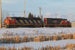 CN 5523 & 5379 at CN's Scotford Yard