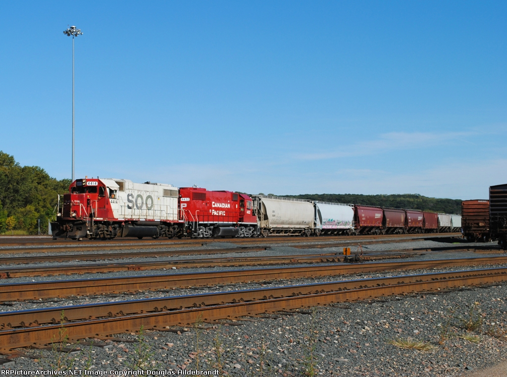 Geeps on a road train