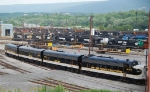 NS F's outside of Juniata Shops