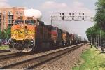 Z train sprints west