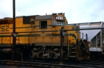 Maine Central at D&H's Conklin yard in Conklin, New York