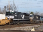 Two generations of SD70M's