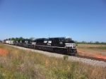 NS 2754 leads a trio of SD70M-2's