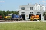 Power at the Bayline enginehouse