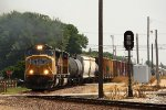 UP 3850, southbound UP train MPRPB