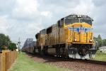 UP 4488, southbound stack train ZYCMX-31