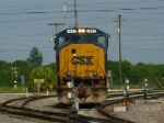 CSXT 4697, lead unit on today's O842