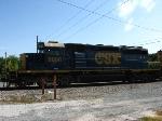 CSXT 8008 sitting in Rockport Yard