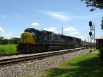 CSXT 4699 leads O839 past the depot