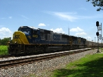 CSX 4699 leads O839 past the depot
