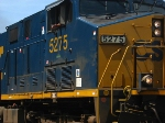 CSX Q741's engineer gives me a wave