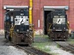 NS EMD SD40 3189 & EMD SD70 2548
