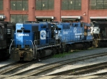 NS EMD GP38's 2912 & 2885