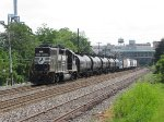NS 5607 leads H2A towards the west side of town