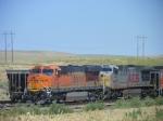 BNSF 6387 KCS 4589