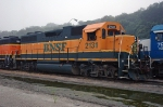 BNSF 2131, EMD GP38, an old and faded unit at Gibson Yard