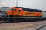 BNSF 2817, EMD GP39M, ex GP30 at Gibson Yard