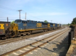 CSX 5449 and 4600