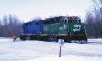 BNSF 2891 & EMDX 798-2
