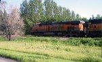 BNSF 6357 approaching