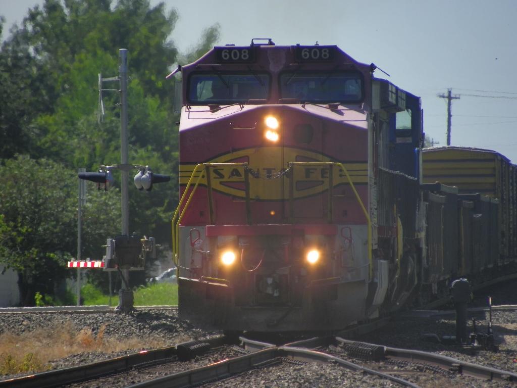 ATSF C44-9W 608