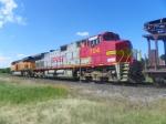 BNSF C44-9W 704