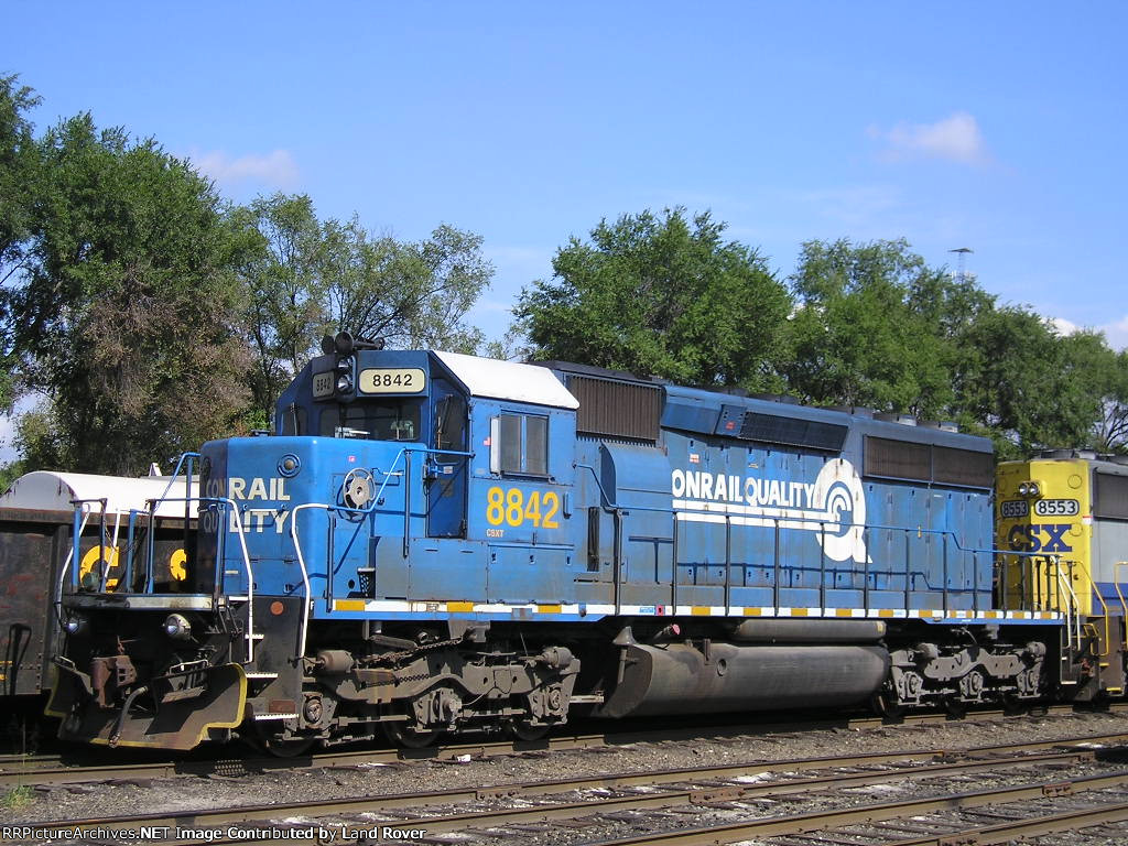 CSXT 8842 At New River Yard