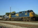 CSXT 4600 SD 80 Mac On CSX K 587 Southbound